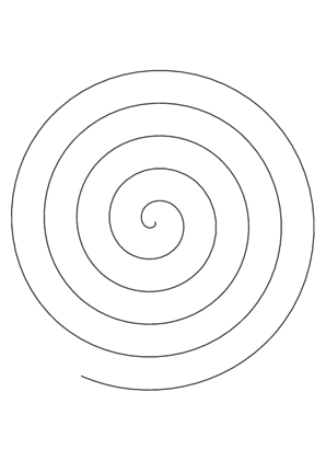 Spiral Cutout